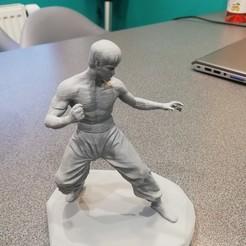 Download free STL file Bruce Lee • 3D printing design, spawel
