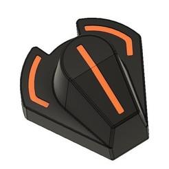 Annotation 2020-08-20 103040.jpg Download STL file Fanatec Formula V2 encoder knob • 3D printing model, Matt260z
