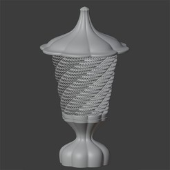 IMAGEN1.jpg Download OBJ file Table Lamp • Template to 3D print, Carlostfe1972