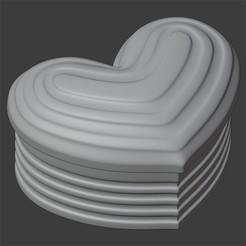 Download 3D printer designs HEART BOX, Carlostfe1972
