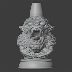 MONO1.jpg Download STL file SHISHA NOZZLE • 3D printing model, Carlostfe1972