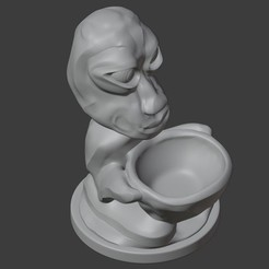 Download free 3D printer files CHARACTER POT, Carlostfe1972