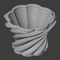 IMAGEN1.jpg Télécharger fichier STL LE POT EN SPIRALE TRADITIONNEL • Design pour impression 3D, Carlostfe1972