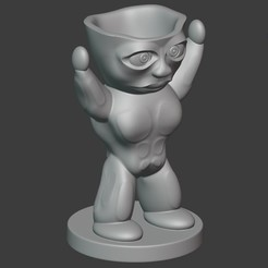 Download 3D printer files POT CHARACTER B, Carlostfe1972