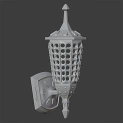 Télécharger fichier OBJ LUMIÈRE MURALE • Objet à imprimer en 3D, Carlostfe1972