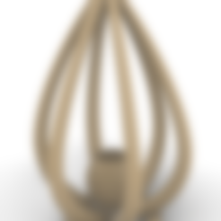 6-branches_drop.stl Télécharger fichier STL gratuit Pot de fleur à suspendre en forme de goutte • Modèle à imprimer en 3D, r0nflex