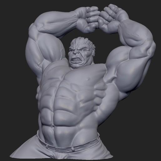 Download free 3D printing files Hulk, marcomondragon_art