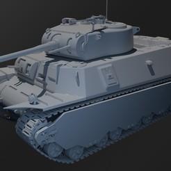 6.jpg Download STL file M6 Tank • 3D printer model, marcomondragon_art