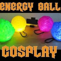 il_794xN.1881728993_lxh7.jpg Download STL file LED Energy Ball Cosplay Prop, Wearable DBZ Super Saiyan Plasma Spirit Bomb Costume Prop for Comiccon, Halloween • 3D printable design, mechengineermike