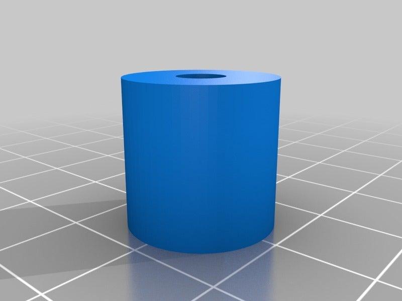 Scope_Clamp_Knob.png Télécharger fichier STL gratuit Platine de microscope USB et support de trépied • Design à imprimer en 3D, mechengineermike