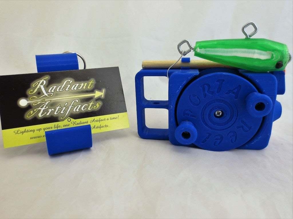 IMG_8309.JPG Download free STL file PortaReel Portable Fishing Pole • 3D printable model, mechengineermike