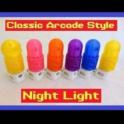 pacman_nightliggt.jpg Download free STL file Pacman & Ghost Nightlights • 3D print model, mechengineermike