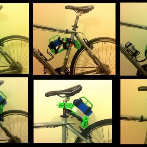 container_bicycle-boosterpack-3d-printing-74577.jpg Télécharger fichier STL Bicycle BoosterPack, véhicule électrique à pince • Objet pour impression 3D, mechengineermike