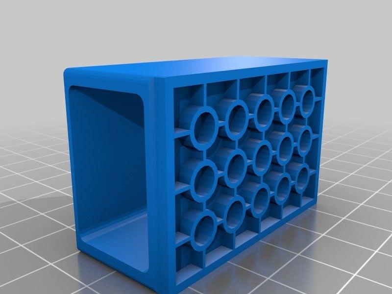 2d51ba8fea202d5db75352b9ee407cd4.png Télécharger fichier SCAD gratuit Monture Arduino Not-Lego et accessoires de robotique • Modèle pour imprimante 3D, mechengineermike