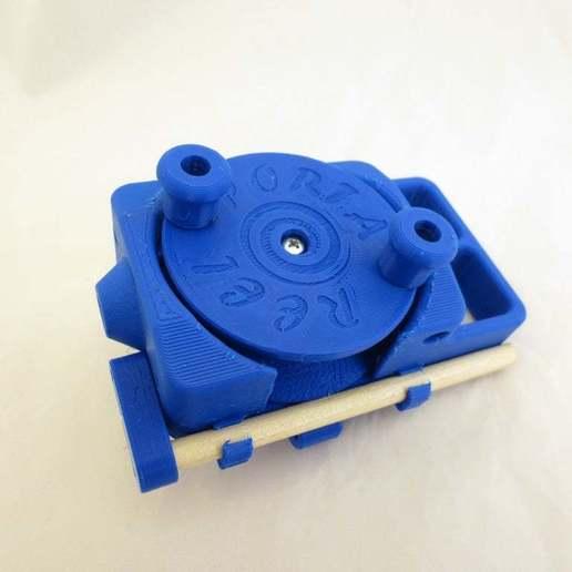 IMG_8298.JPG Download free STL file PortaReel Portable Fishing Pole • 3D printable model, mechengineermike
