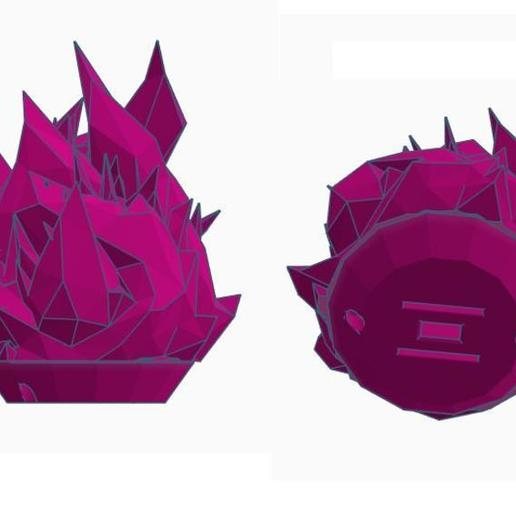 il_794xN.2141716472_rtu3.jpg Download STL file  Low Poly Fire, Promare Burnish Lio Flame Cosplay, Light up LED Wearable FireBall Costume Cosplay, Comiccon, Halloween • Model to 3D print, mechengineermike