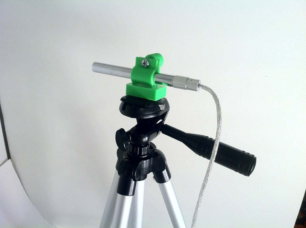 IMG_2657.JPG Télécharger fichier STL gratuit Platine de microscope USB et support de trépied • Design à imprimer en 3D, mechengineermike