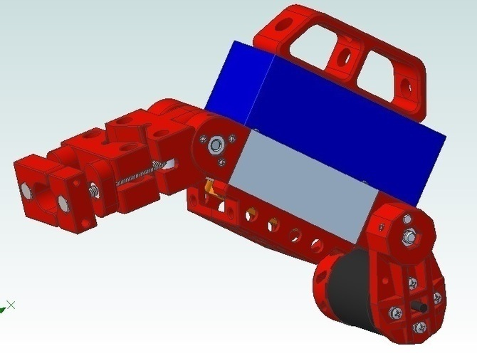 container_bicycle-boosterpack-3d-printing-74576.jpg Télécharger fichier STL Bicycle BoosterPack, véhicule électrique à pince • Objet pour impression 3D, mechengineermike