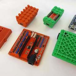 IMG_6194.JPG Download free SCAD file Arduino Not-Lego Mount & Robotics Accessories • Design to 3D print, mechengineermike