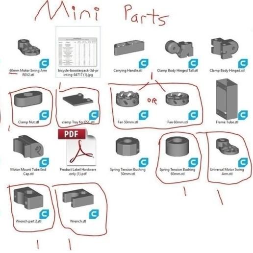 container_bicycle-boosterpack-3d-printing-212676.jpg Télécharger fichier STL Bicycle BoosterPack, véhicule électrique à pince • Objet pour impression 3D, mechengineermike
