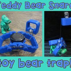 F93JJTWK7GW9DY3.LARGE.jpg Download free STL file Teddy Bear Snare Toy Bear Trap • 3D print template, mechengineermike