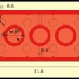 lego-brick-base-dimensions-1.png Télécharger fichier SCAD gratuit Monture Arduino Not-Lego et accessoires de robotique • Modèle pour imprimante 3D, mechengineermike