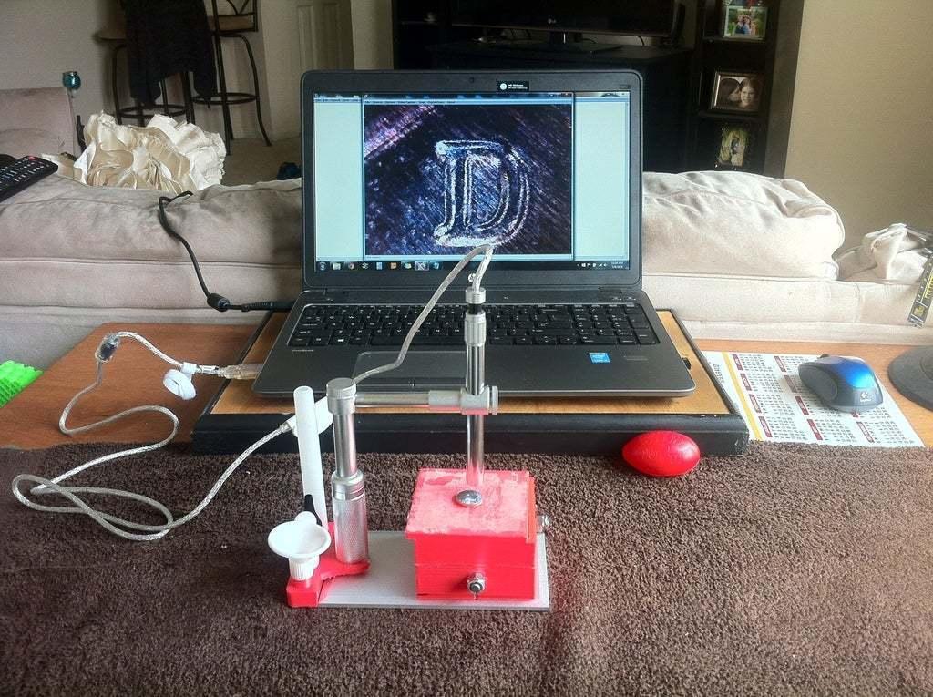 IMG_2652.JPG Télécharger fichier STL gratuit Platine de microscope USB et support de trépied • Design à imprimer en 3D, mechengineermike