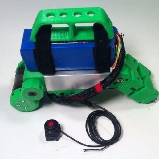 container_bicycle-boosterpack-3d-printing-74578.jpg Télécharger fichier STL Bicycle BoosterPack, véhicule électrique à pince • Objet pour impression 3D, mechengineermike
