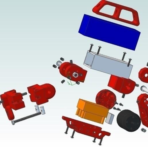container_bicycle-boosterpack-3d-printing-74571.jpg Télécharger fichier STL Bicycle BoosterPack, véhicule électrique à pince • Objet pour impression 3D, mechengineermike