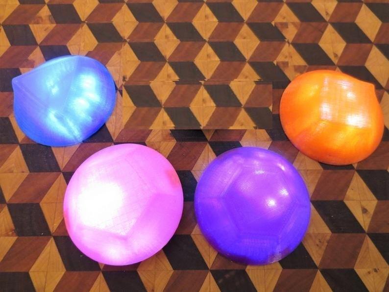 il_794xN.1825770743_2oqg.jpg Download STL file Steven Universe LED GEM, Wearable Glow Light Up Crystal Prop Amethyst Rose Quartz Pearl, Cosplay, Costume, Halloween • 3D printer model, mechengineermike