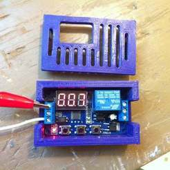 IMG_4380.JPG Download free STL file Programmable Timer Relay Case • Object to 3D print, mechengineermike