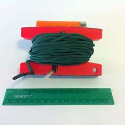 IMG_0872.JPG Download free STL file Paracord Utility Spool • 3D printing object, mechengineermike