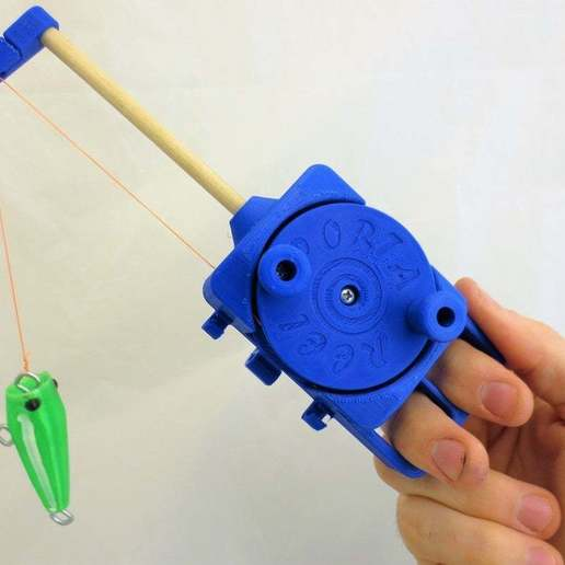 IMG_8304.JPG Download free STL file PortaReel Portable Fishing Pole • 3D printable model, mechengineermike