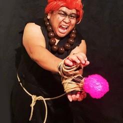 iap_640x640.2639205625_3px2el0s.jpg Télécharger fichier STL Le Cosplay flottant de Hadouken ! Boule d'énergie portable à LED, Power Kai Blast pour le Cosplay en costume, Comiccon, Halloween • Design pour imprimante 3D, mechengineermike