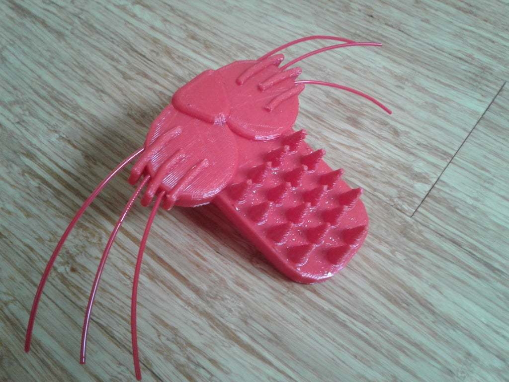 20170617_104018.jpg Download free STL file Licky Brush - Lick your Pet • 3D printer object, mechengineermike