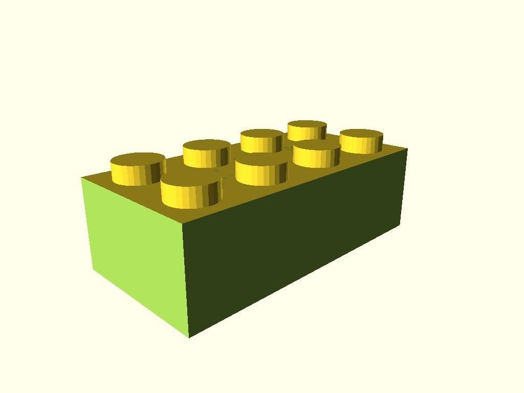 b6997a6f6fa94fe4daffe0be9a1eab30.png Télécharger fichier SCAD gratuit Monture Arduino Not-Lego et accessoires de robotique • Modèle pour imprimante 3D, mechengineermike