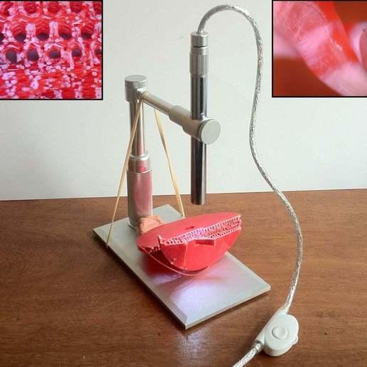 title_image.JPG Télécharger fichier STL gratuit Platine de microscope USB et support de trépied • Design à imprimer en 3D, mechengineermike