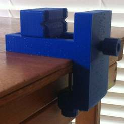 IMG_4690_-_Copy.JPG Download free STL file Desk Vice: Versatile & Strong • 3D printer design, mechengineermike