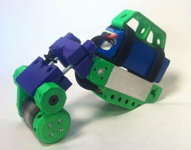 container_bicycle-boosterpack-3d-printing-74579.jpg Télécharger fichier STL Bicycle BoosterPack, véhicule électrique à pince • Objet pour impression 3D, mechengineermike