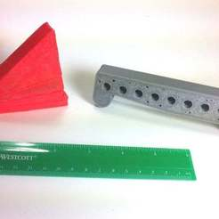 IMG_0659.JPG Download free STL file Sine Bars and Angle Block Set • 3D printer object, mechengineermike