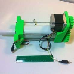 IMG_1604.JPG Download free STL file 3D Printed High Load Linear Actuator • 3D printer template, mechengineermike