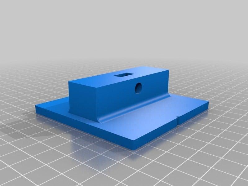 Microscope_Stage_End.png Télécharger fichier STL gratuit Platine de microscope USB et support de trépied • Design à imprimer en 3D, mechengineermike
