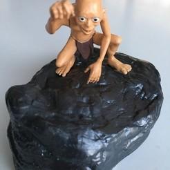 Download free 3D print files Gollum - Smeagol LOTR, Yoshi1338