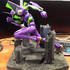Download 3D printer templates Evangelion Unit 01 - Rebuild of Evangelion - Collection, sssdesigns