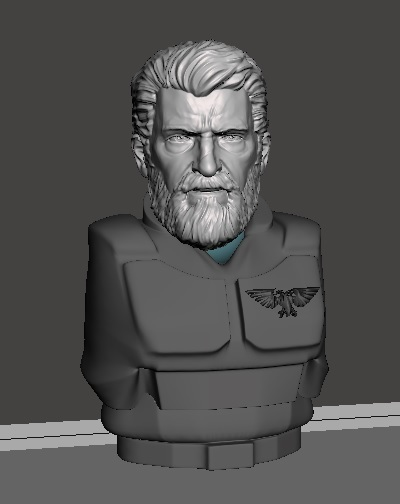 display 1.jpg Download free STL file Logan The Perpetual Angry Space Guardsmen  • 3D printable model, Valiant_Armory