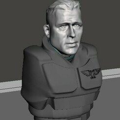 display 1.jpg Download free STL file Furioso Bradly Tank Commander • 3D printer model, Valiant_Armory