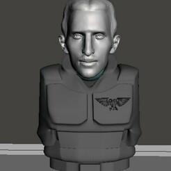 display 1.jpg Download free STL file Nikola Tesla 28mm Wargaming Head • 3D printable object, Valiant_Armory