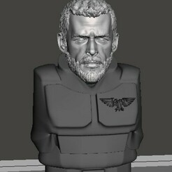display 1.jpg Download free STL file 28mm Thor Head • 3D printer template, Valiant_Armory