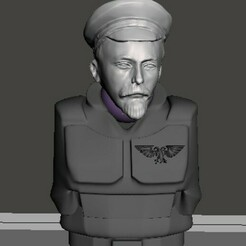 display 1.jpg Download free STL file Iron Felix, Commissar of the Imperium • 3D printing template, Valiant_Armory