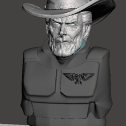 display 1.png Download free STL file Marshall Eastman Frontier Space Guard • 3D printable template, Valiant_Armory
